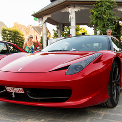 Rode Ferrari