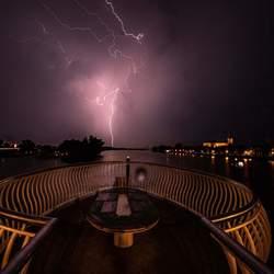 Onweer op de ijssel