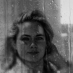 Wet mirror look