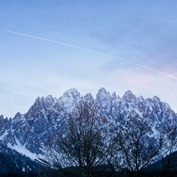 Dolomite blue hours