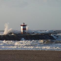 Storm op Scheveningen