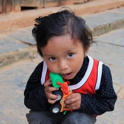Meisje in Bandipur