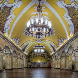Metro of Moscow