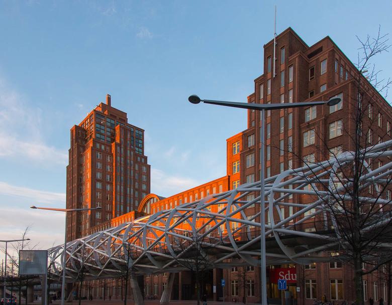 Rijksdienst voor Ondernemend Nederland - Het gebouw van de Rijksdienst voor Ondernemend Nederland in Den Haag