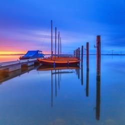 Zonsondergang aan het Eemmeer