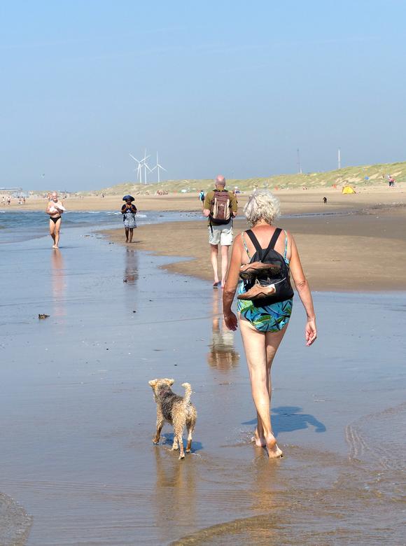 Strand - Gisteren een dagje naar het strand geweest bij IJmuiden. Ze noemen dit het hondenstrand omdat, in tegenstelling tot andere stranden, je er oo