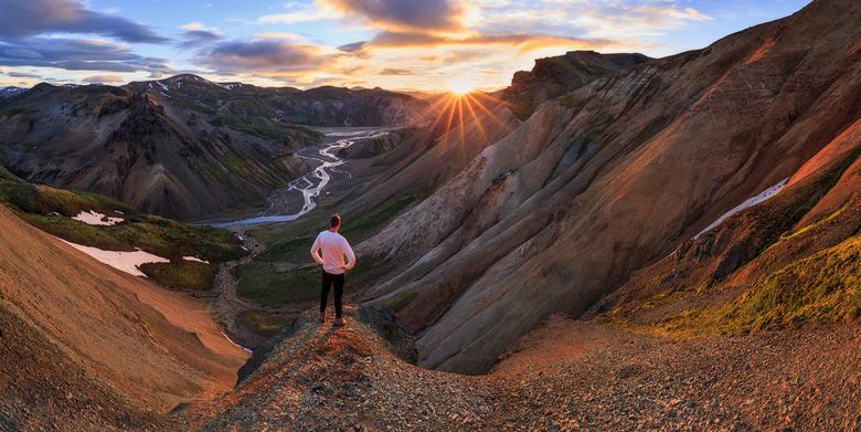 Selfie in IJsland