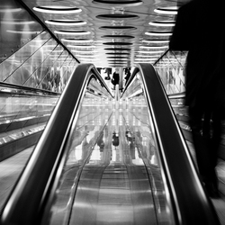 The Speed Of The Escalators