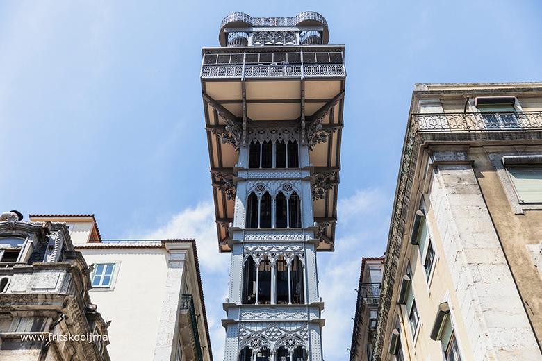 Santa Justa lift in Lissabon - 20180618 0940 Santa Justa lift in Lissabon
