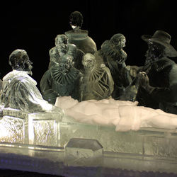 Rembrandt on ice
