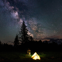Samen sterren kijken