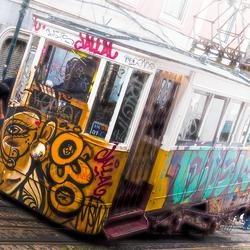Lisbon Hilly Tram