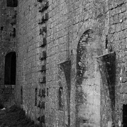 Binnenkant kasteel