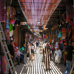 De Souk in Marrakesh