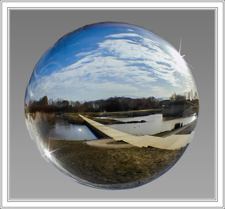 "glazen bol - ""Karpermolenpark in een glazen bol"""