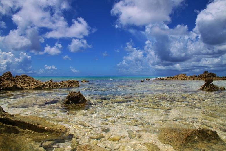 Westkust - Vastgelegd aan de westkust van Bonaire.