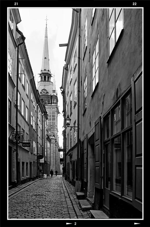 Stockholm 49 - Stockholm is een stad welke uit heel wat eilandjes bestaat. Hierdoor heeft deze stad heel wat fraaie wandelingen te bieden. Het mooie v