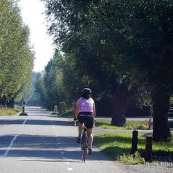 eenzame fietster