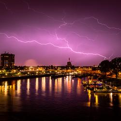 20190604 - Bliksem Nijmegen Waalhaven-2037