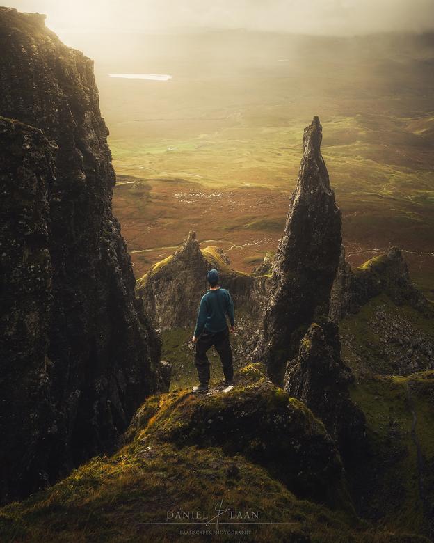 Wayfinder - Een landschap waar je je echt nietig voelt. The Quiraing, Schotland.