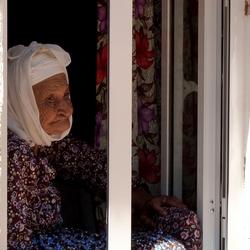 oud turks vrouwtje ,