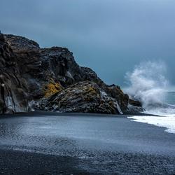 Zwarte strand IJsland