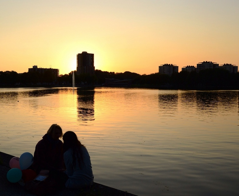 Love in the City - Sloterplas, Amsterdam.