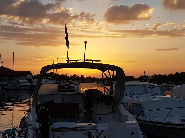 sunset Šibenik