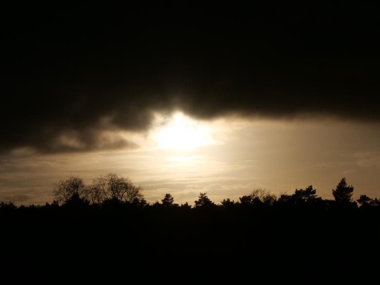 Zonsondergang -