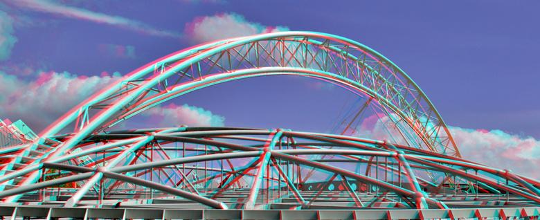 dak-Konstructie Station-Blaak Rotterdam 3D - dak-Konstructie Station-Blaak Rotterdam 3D