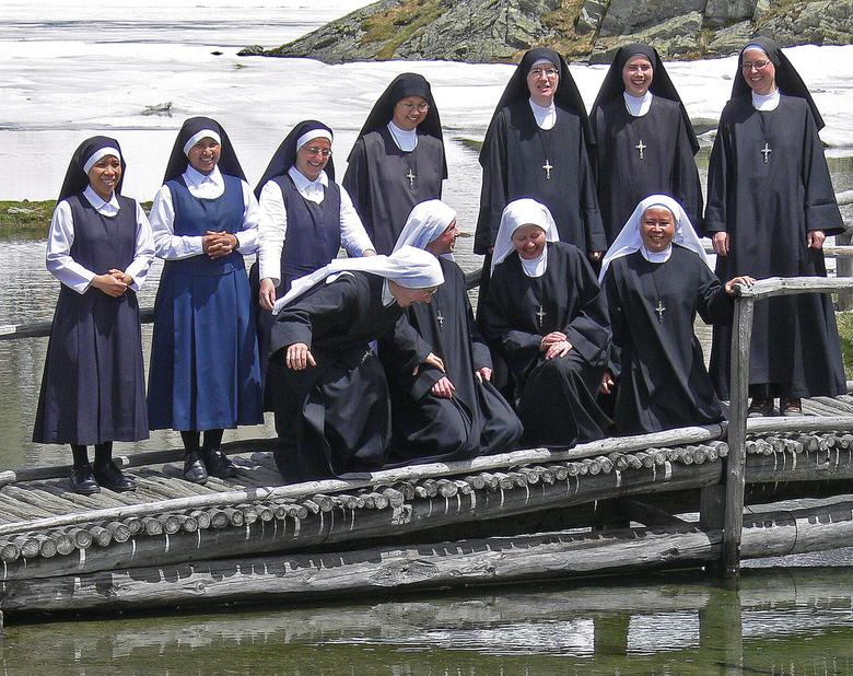 Nonnen Op Vakantie -