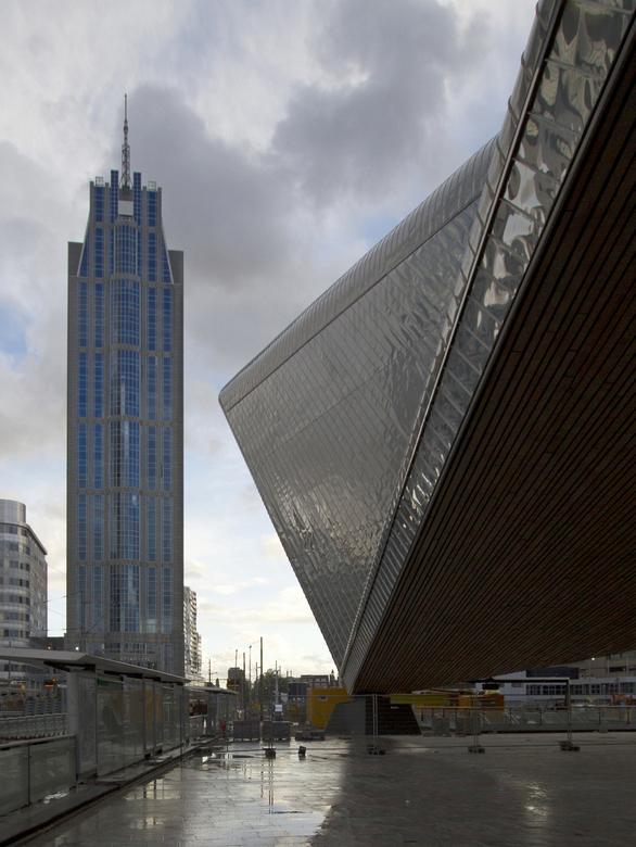 Rotterdam - Het origineel had wat meer op de voorgrond, maar op advies van een aantal clubleden aangepast. Waarvan dit het resultaat is.