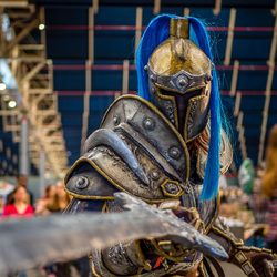 Knight @ Dutch Comic Con