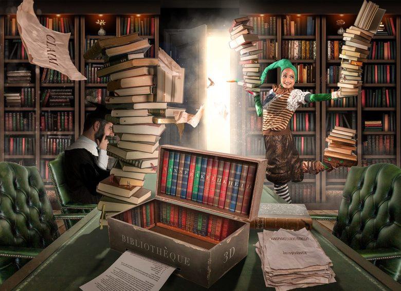bibliothèque saltimbanque - Mijn werk als aansprakelijkheidsdeskundige bij een verzekeringsmakelaar. Af en toe kunsten uithalen om iets voor elkaar te