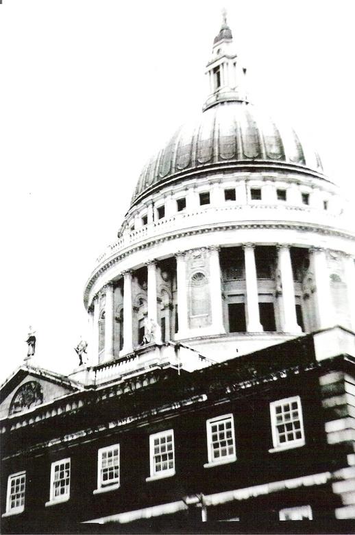 St Paul - Pinhole foto van de St Paul in London