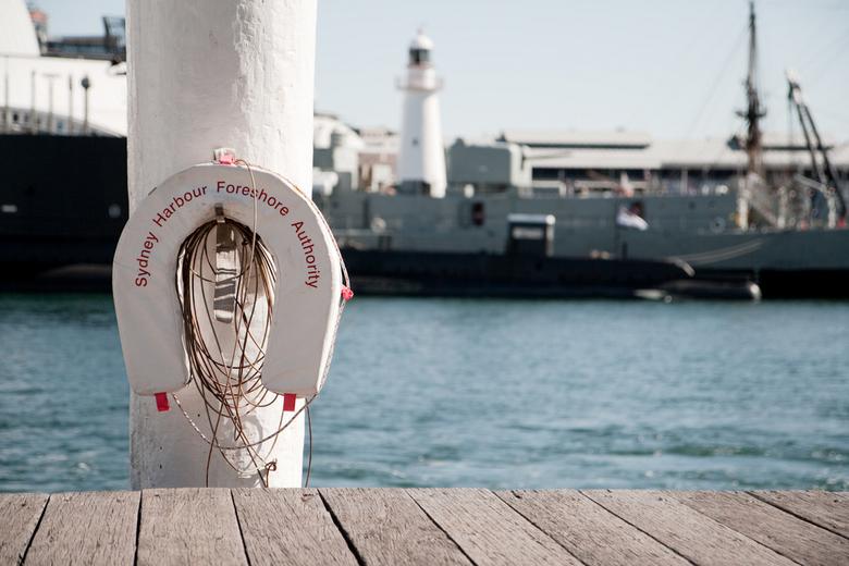 Sydney Harbor - Weet niet waarom, maar vond het wel een leuk plaatje...