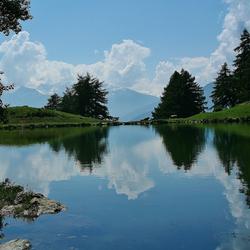 Prachtig bergmeertje in Burgeis