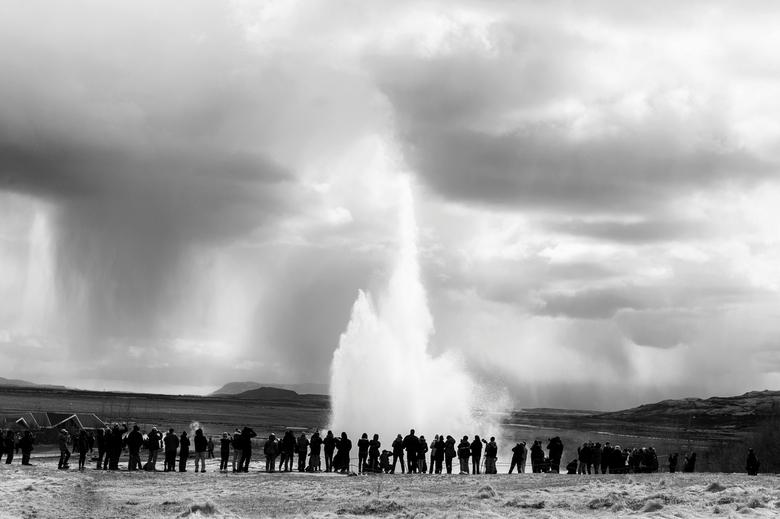 IJsland - Geyser -