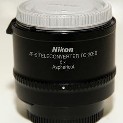 Te koop: AF-S Teleconverter TC-20E 11 = 2x bij interesse: info@fotolouisdrent.nl
