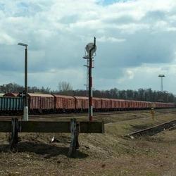 Spoor Nysa (Polen)