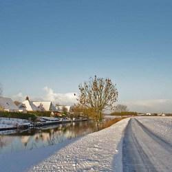 Winter in Groningen (Niezijl)
