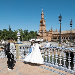 Sevilla, Plaza d'España