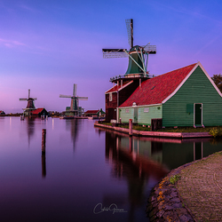 Evening serenity in Zaanse Schans