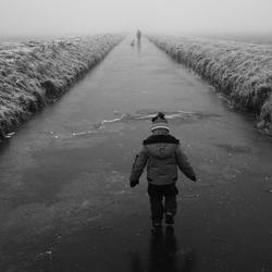 De jongste op het ijs