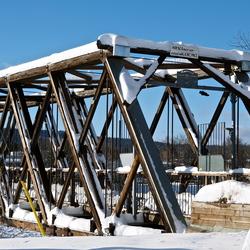 Winter in Quesnel, BC