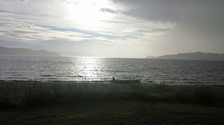 zon en regen -