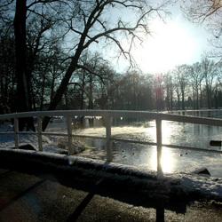 winters tafereel , wenum / apeldoorn