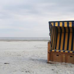 Op het strand van Ameland