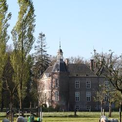 Lente om kasteel Hackfoort