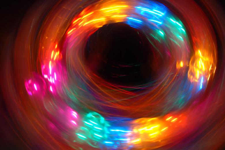 Swing! - Donker en licht blijven gave effecten geven..